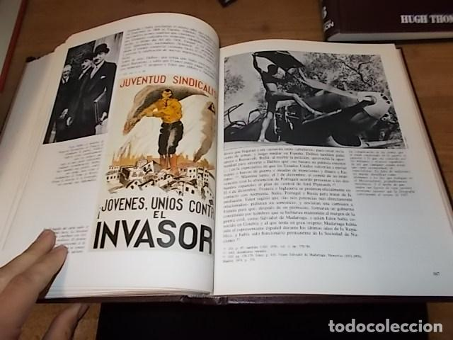 Libros de segunda mano: LA GUERRA CIVIL ESPAÑOLA. 6 TOMOS + CARTELES DE LA GUERRA (COL. COMPLETA). HUGH THOMAS. URBION .1979 - Foto 67 - 244620180