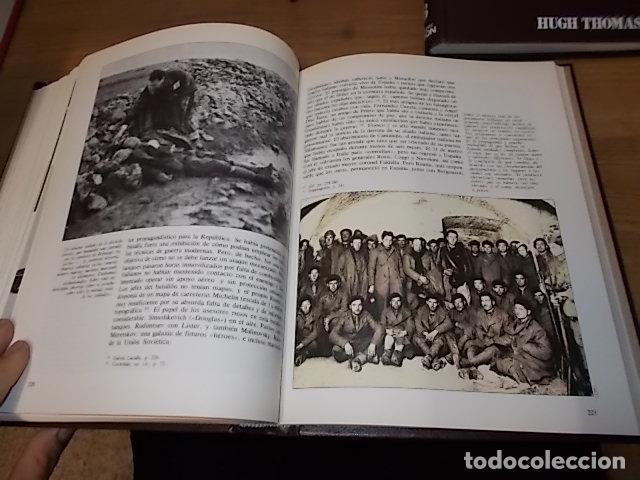 Libros de segunda mano: LA GUERRA CIVIL ESPAÑOLA. 6 TOMOS + CARTELES DE LA GUERRA (COL. COMPLETA). HUGH THOMAS. URBION .1979 - Foto 69 - 244620180