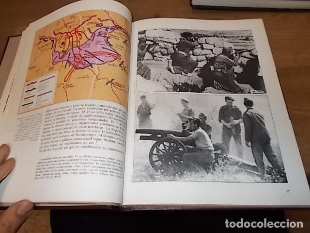 Libros de segunda mano: LA GUERRA CIVIL ESPAÑOLA. 6 TOMOS + CARTELES DE LA GUERRA (COL. COMPLETA). HUGH THOMAS. URBION .1979 - Foto 8 - 244620180