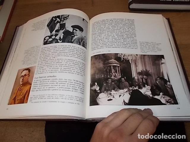 Libros de segunda mano: LA GUERRA CIVIL ESPAÑOLA. 6 TOMOS + CARTELES DE LA GUERRA (COL. COMPLETA). HUGH THOMAS. URBION .1979 - Foto 10 - 244620180