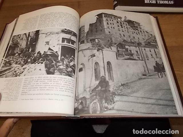 Libros de segunda mano: LA GUERRA CIVIL ESPAÑOLA. 6 TOMOS + CARTELES DE LA GUERRA (COL. COMPLETA). HUGH THOMAS. URBION .1979 - Foto 12 - 244620180