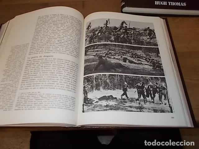 Libros de segunda mano: LA GUERRA CIVIL ESPAÑOLA. 6 TOMOS + CARTELES DE LA GUERRA (COL. COMPLETA). HUGH THOMAS. URBION .1979 - Foto 13 - 244620180