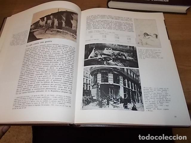 Libros de segunda mano: LA GUERRA CIVIL ESPAÑOLA. 6 TOMOS + CARTELES DE LA GUERRA (COL. COMPLETA). HUGH THOMAS. URBION .1979 - Foto 18 - 244620180