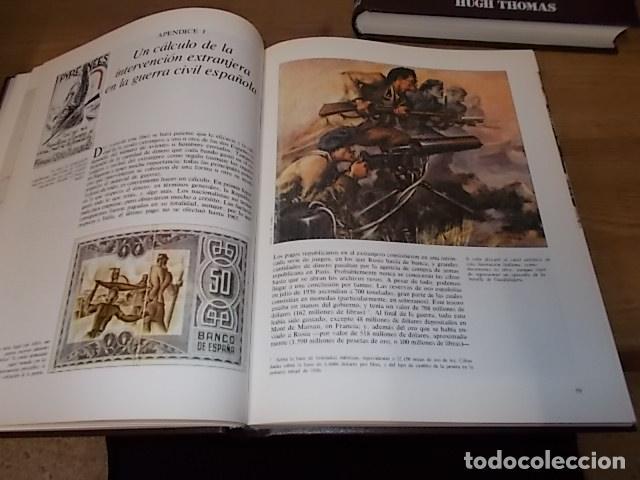 Libros de segunda mano: LA GUERRA CIVIL ESPAÑOLA. 6 TOMOS + CARTELES DE LA GUERRA (COL. COMPLETA). HUGH THOMAS. URBION .1979 - Foto 20 - 244620180