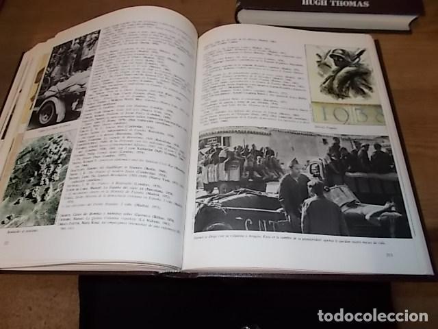 Libros de segunda mano: LA GUERRA CIVIL ESPAÑOLA. 6 TOMOS + CARTELES DE LA GUERRA (COL. COMPLETA). HUGH THOMAS. URBION .1979 - Foto 29 - 244620180