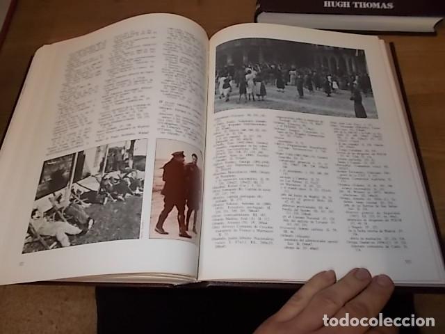 Libros de segunda mano: LA GUERRA CIVIL ESPAÑOLA. 6 TOMOS + CARTELES DE LA GUERRA (COL. COMPLETA). HUGH THOMAS. URBION .1979 - Foto 30 - 244620180