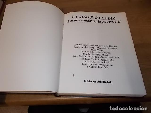 Libros de segunda mano: LA GUERRA CIVIL ESPAÑOLA. 6 TOMOS + CARTELES DE LA GUERRA (COL. COMPLETA). HUGH THOMAS. URBION .1979 - Foto 38 - 244620180