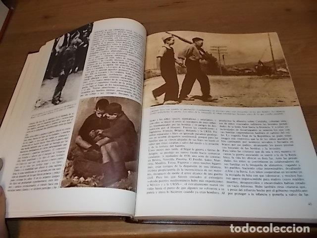 Libros de segunda mano: LA GUERRA CIVIL ESPAÑOLA. 6 TOMOS + CARTELES DE LA GUERRA (COL. COMPLETA). HUGH THOMAS. URBION .1979 - Foto 40 - 244620180