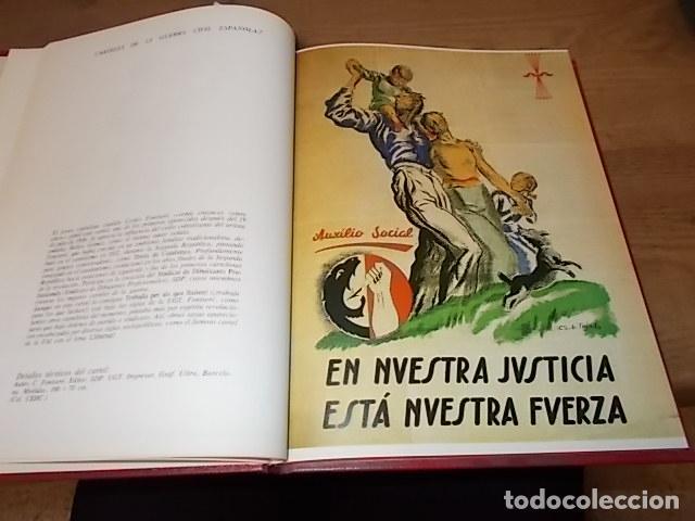 Libros de segunda mano: LA GUERRA CIVIL ESPAÑOLA. 6 TOMOS + CARTELES DE LA GUERRA (COL. COMPLETA). HUGH THOMAS. URBION .1979 - Foto 65 - 244620180