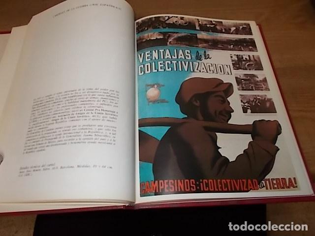 Libros de segunda mano: LA GUERRA CIVIL ESPAÑOLA. 6 TOMOS + CARTELES DE LA GUERRA (COL. COMPLETA). HUGH THOMAS. URBION .1979 - Foto 70 - 244620180