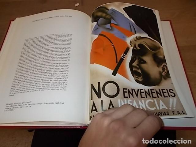 Libros de segunda mano: LA GUERRA CIVIL ESPAÑOLA. 6 TOMOS + CARTELES DE LA GUERRA (COL. COMPLETA). HUGH THOMAS. URBION .1979 - Foto 75 - 244620180