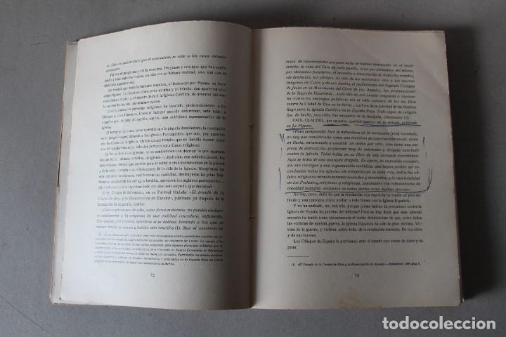 Libros de segunda mano: LA GRAN VICTIMA, LA IGLESIA ESPAÑOLA MARTIR DE LA REVOLUCION ROJA. CASTRO ALBARRAN - 1940 - Foto 6 - 141651206
