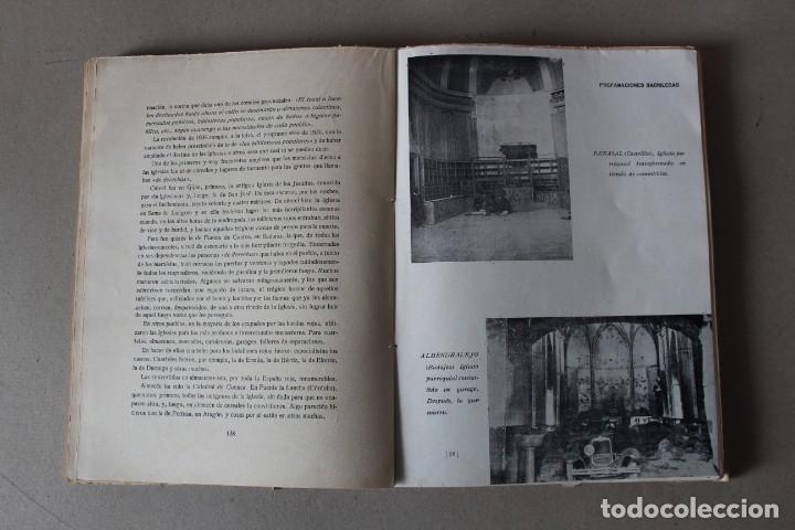 Libros de segunda mano: LA GRAN VICTIMA, LA IGLESIA ESPAÑOLA MARTIR DE LA REVOLUCION ROJA. CASTRO ALBARRAN - 1940 - Foto 10 - 141651206
