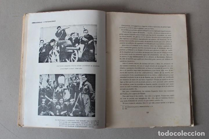 Libros de segunda mano: LA GRAN VICTIMA, LA IGLESIA ESPAÑOLA MARTIR DE LA REVOLUCION ROJA. CASTRO ALBARRAN - 1940 - Foto 13 - 141651206