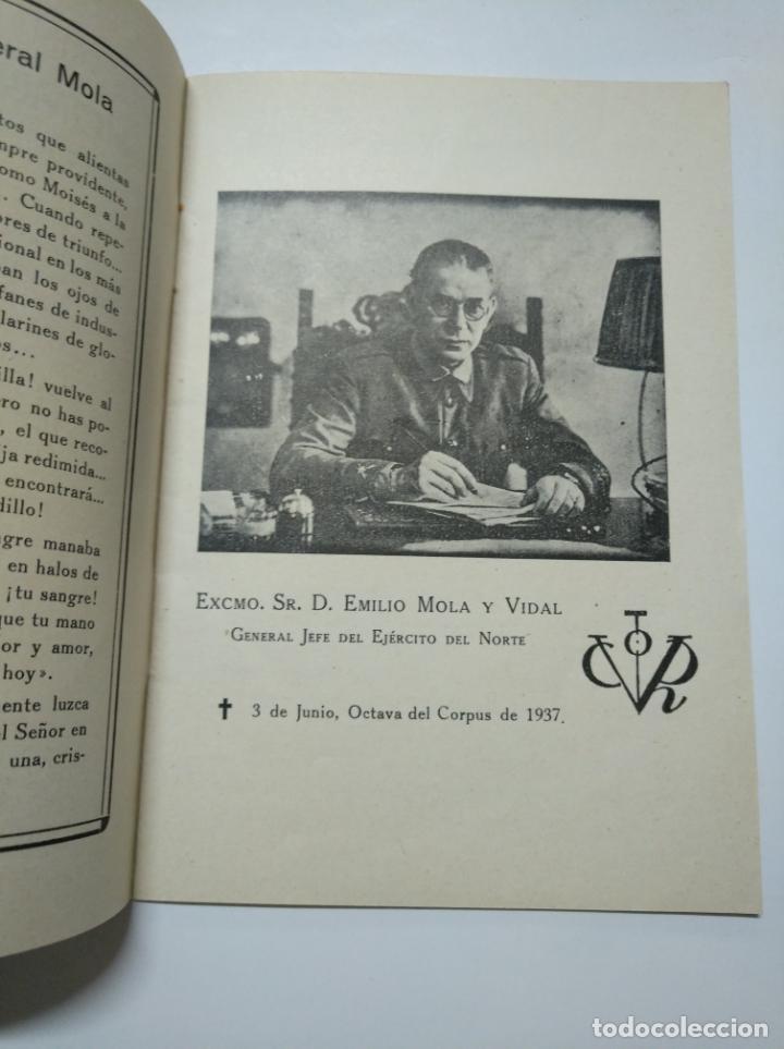 Libros de segunda mano: MOLA. - DOCTRINAL DE UN HEROE Y HOMBRE DE ESTADO. BILBAO 1937. TDKLT - Foto 2 - 141895762