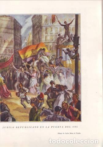 Libros de segunda mano: HISTORIA DE LA CRUZADA ESPAÑOLA Tomo II: DE LA DICTADURA A LA REPUBLICA. Ils. Carlos Sáenz de Tejada - Foto 2 - 145403118