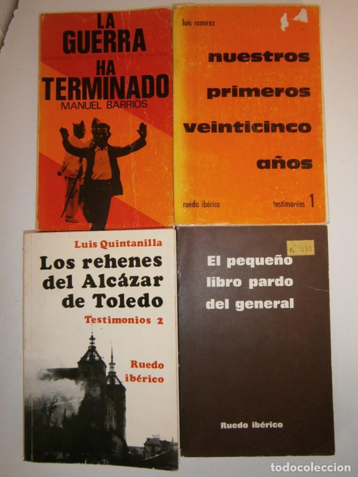Libros de segunda mano: LOTE GUERRA CIVIL ESPAÑOLA Y FRANQUISMO 4 LIBROS - Foto 2 - 145545438