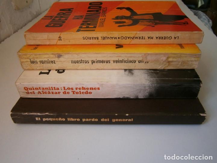Libros de segunda mano: LOTE GUERRA CIVIL ESPAÑOLA Y FRANQUISMO 4 LIBROS - Foto 4 - 145545438
