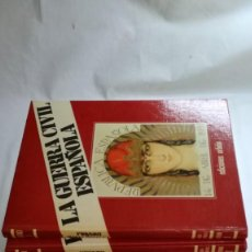Libros de segunda mano: LA GUERRA CIVIL ESPAÑOLA - HUGHT THOMAS - EDICIONES URBION - 12 TOMOS - COMPLETA. Lote 145711990