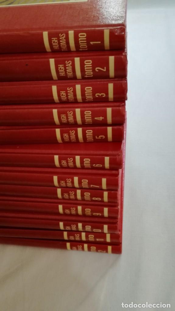 Libros de segunda mano: LA GUERRA CIVIL ESPAÑOLA - Hught Thomas - EDICIONES URBION - 12 TOMOS - COMPLETA - Foto 2 - 145711990