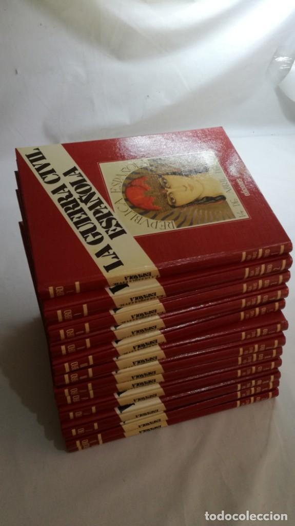 Libros de segunda mano: LA GUERRA CIVIL ESPAÑOLA - Hught Thomas - EDICIONES URBION - 12 TOMOS - COMPLETA - Foto 3 - 145711990