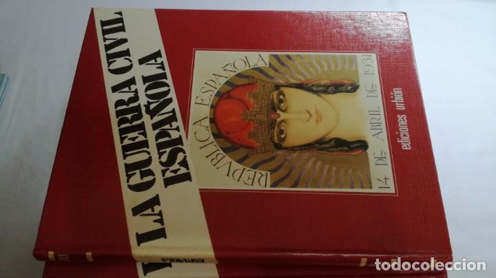 Libros de segunda mano: LA GUERRA CIVIL ESPAÑOLA - Hught Thomas - EDICIONES URBION - 12 TOMOS - COMPLETA - Foto 4 - 145711990