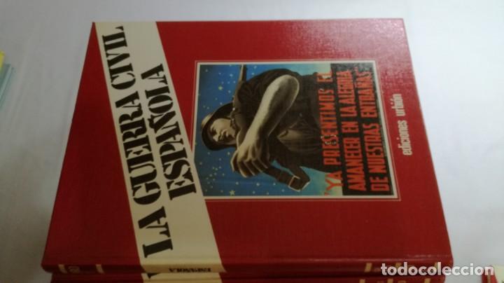 Libros de segunda mano: LA GUERRA CIVIL ESPAÑOLA - Hught Thomas - EDICIONES URBION - 12 TOMOS - COMPLETA - Foto 5 - 145711990