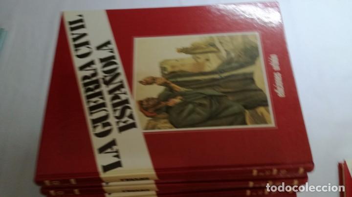 Libros de segunda mano: LA GUERRA CIVIL ESPAÑOLA - Hught Thomas - EDICIONES URBION - 12 TOMOS - COMPLETA - Foto 6 - 145711990