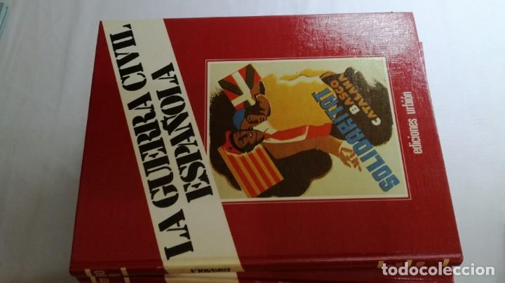 Libros de segunda mano: LA GUERRA CIVIL ESPAÑOLA - Hught Thomas - EDICIONES URBION - 12 TOMOS - COMPLETA - Foto 8 - 145711990
