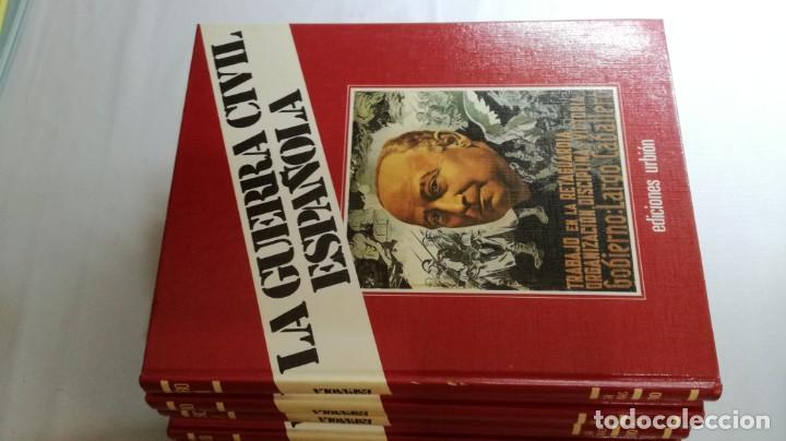 Libros de segunda mano: LA GUERRA CIVIL ESPAÑOLA - Hught Thomas - EDICIONES URBION - 12 TOMOS - COMPLETA - Foto 9 - 145711990