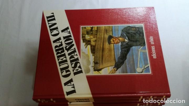Libros de segunda mano: LA GUERRA CIVIL ESPAÑOLA - Hught Thomas - EDICIONES URBION - 12 TOMOS - COMPLETA - Foto 10 - 145711990