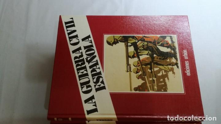 Libros de segunda mano: LA GUERRA CIVIL ESPAÑOLA - Hught Thomas - EDICIONES URBION - 12 TOMOS - COMPLETA - Foto 11 - 145711990