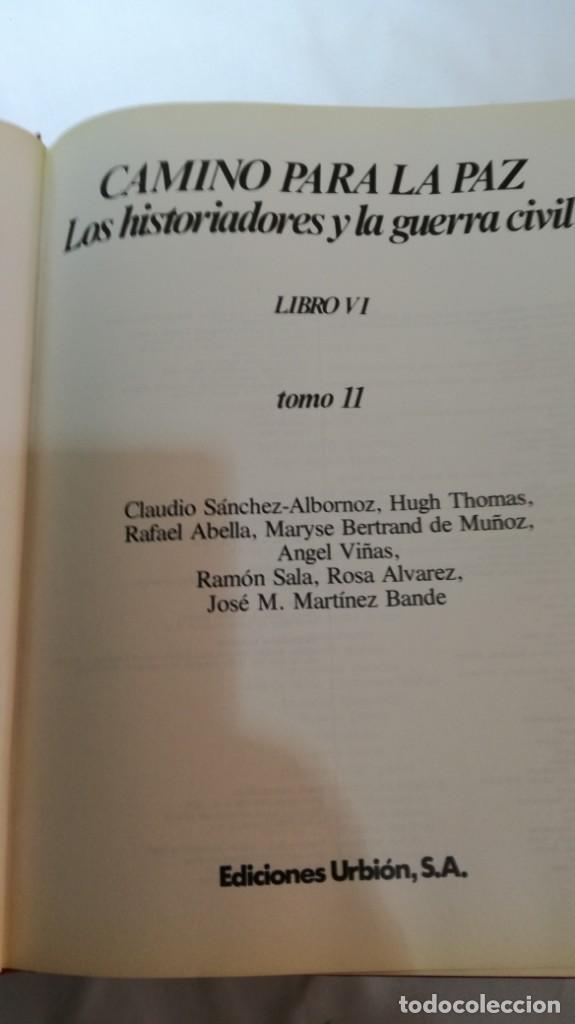 Libros de segunda mano: LA GUERRA CIVIL ESPAÑOLA - Hught Thomas - EDICIONES URBION - 12 TOMOS - COMPLETA - Foto 17 - 145711990