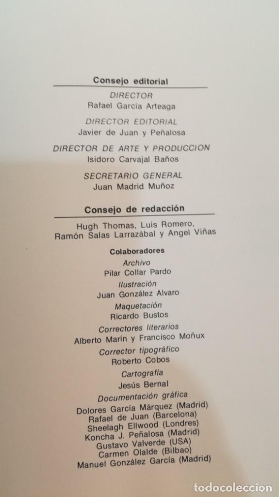 Libros de segunda mano: LA GUERRA CIVIL ESPAÑOLA - Hught Thomas - EDICIONES URBION - 12 TOMOS - COMPLETA - Foto 18 - 145711990