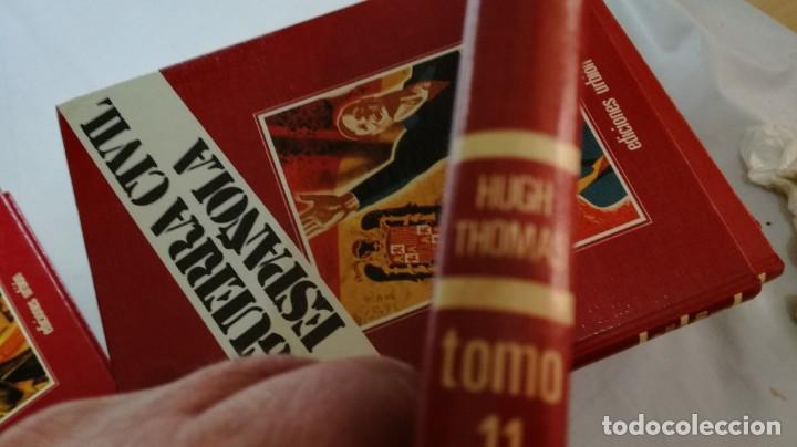 Libros de segunda mano: LA GUERRA CIVIL ESPAÑOLA - Hught Thomas - EDICIONES URBION - 12 TOMOS - COMPLETA - Foto 29 - 145711990