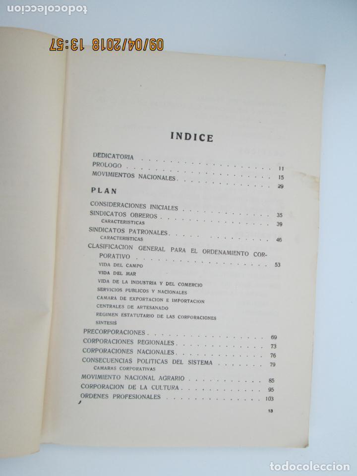 Libros de segunda mano: PLAN 1937 - OBRA NACIONAL CORPORATIVA - MUY ILUSTRADA - TRADICIONALISMO CARLISTA - Foto 2 - 31458743
