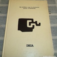 Livros em segunda mão: LA GUERRA CIVIL EN EUSKADI EUSKO GODARIAK DEIA 1987 PASTA DURA 242 PAGINAS FOTOGRAFIAS B/N Y COLOR. Lote 147530434