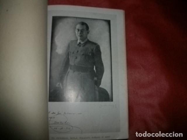 Libros de segunda mano: (GENERAL EMILIO) MOLA. DATOS PARA UNA BIOGRAFÍA Y PARA LA HISTORIA DEL ALZAMIENTO NACIONAL (1938) - Foto 2 - 147725530