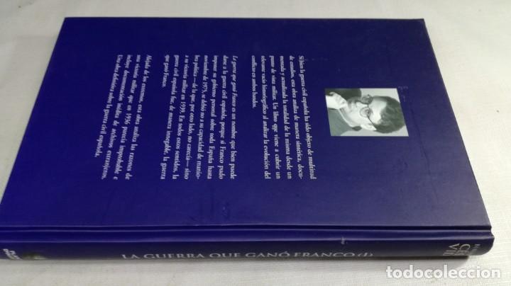 Libros de segunda mano: LA GUERRA QUE GANO FRANCO / I/ CESAR VIDAL/ PLANETA - Foto 2 - 147725782