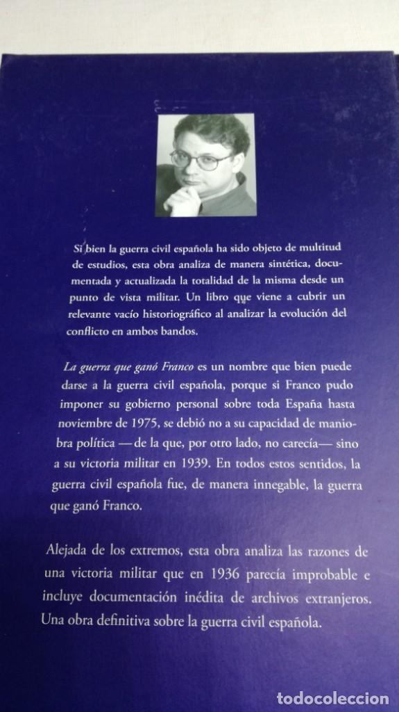 Libros de segunda mano: LA GUERRA QUE GANO FRANCO / I/ CESAR VIDAL/ PLANETA - Foto 3 - 147725782