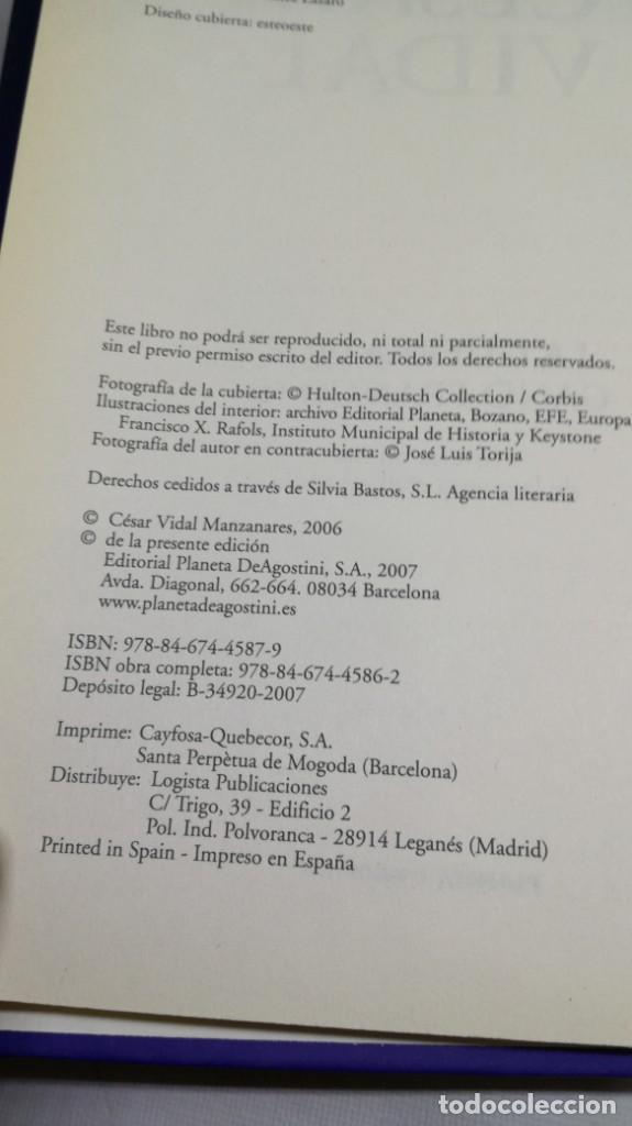 Libros de segunda mano: LA GUERRA QUE GANO FRANCO / I/ CESAR VIDAL/ PLANETA - Foto 6 - 147725782