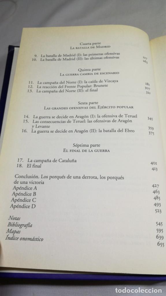 Libros de segunda mano: LA GUERRA QUE GANO FRANCO / I/ CESAR VIDAL/ PLANETA - Foto 9 - 147725782