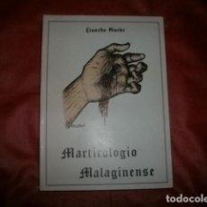 Libros de segunda mano: MARTIROLOGIO MALAGINENSE ( MÁRTIRES DE LA GUERRA CIVIL EN MÁLAGA) LISARDO GUEDE (CON DEDICATORIA). Lote 147732418