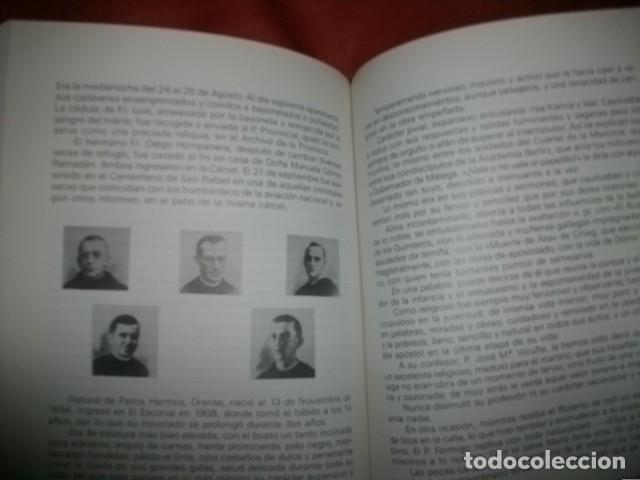 Libros de segunda mano: Martirologio Malaginense ( mártires de la Guerra Civil en Málaga) Lisardo Guede (con dedicatoria) - Foto 2 - 147732418