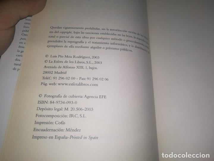 Libros de segunda mano: LOS MITOS DE LA GUERRA CIVIL - PIO MOA - CON FOTOGRAFIAS - Foto 2 - 147740798