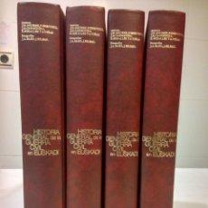 Libros de segunda mano: HISTORIA DE LA GUERRA CIVIL EN EUSKADI. LUIS HARANBURU EDITOR.. Lote 147753346