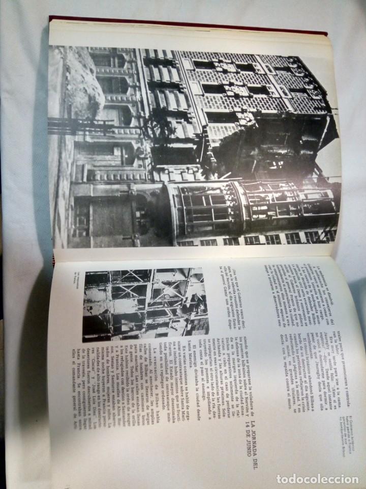 Libros de segunda mano: Historia de la Guerra Civil en Euskadi. Luis Haranburu editor. - Foto 3 - 147753346