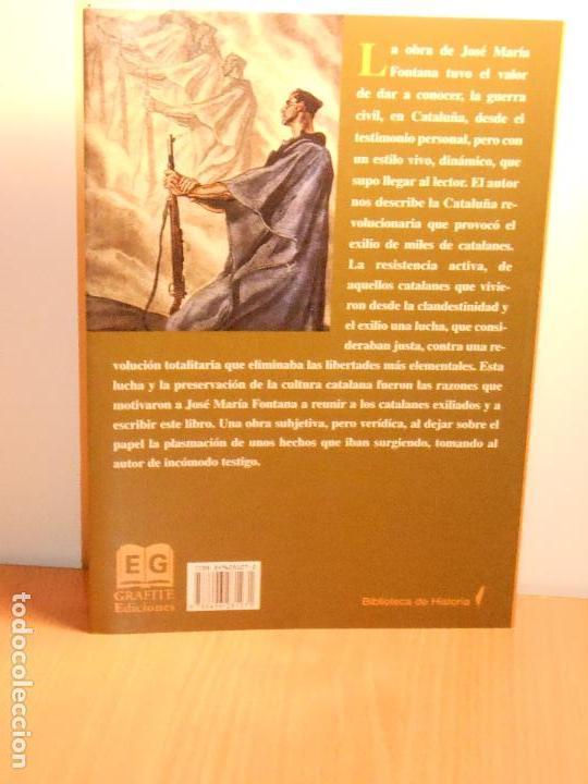 Gebrauchte Bücher: LOS CATALANES EN LA GUERRA DE ESPAÑA, JOSÉ MARÍA FONTANA - Foto 2 - 147756970