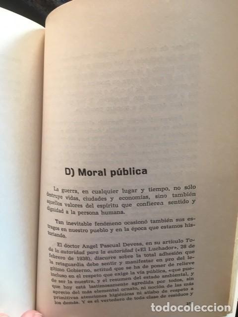 Libros de segunda mano: LA GUERRA CIVIL 1936 - 1939 EN LA PROVINCIA DE ALICANTE - 2 TOMOS (DE 3) - VICENTE RAMOS - Foto 7 - 148009018
