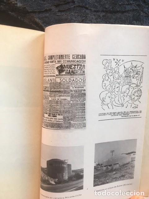 Libros de segunda mano: LA GUERRA CIVIL 1936 - 1939 EN LA PROVINCIA DE ALICANTE - 2 TOMOS (DE 3) - VICENTE RAMOS - Foto 8 - 148009018